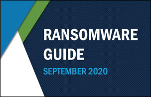 CISA and MS-ISAC Ransomware Guide - September 30, 2020